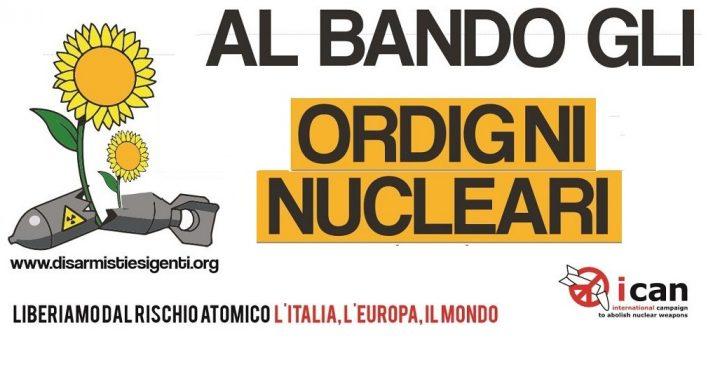 """Dopo il Nobel rilanciamo il disarmo nucleare respingendo i diktat NATO contro un """"Trattato che non si ha da fare"""""""