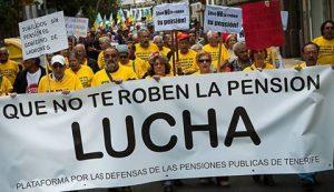 Por la defensa del sistema público de pensiones en España