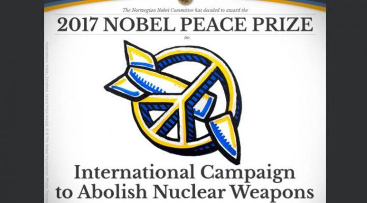 ICAN lauréat du Prix Nobel de la Paix !