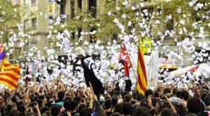 Otra jornada histórica en Cataluña