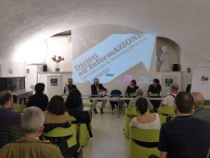 """Presentato anche a Roma """"Diritti all'InformAZIONE"""""""