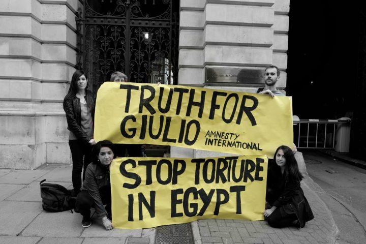 Al-Sisi e Macron, alleati contro i diritti umani