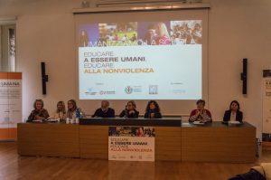 Educare a essere umani. Educare alla nonviolenza. Convegno ispiratore a Milano