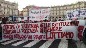 Roma, 25 novembre: parte il corteo nazionale contro la violenza sulle donne