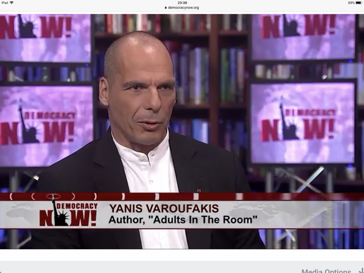 Yanis Varoufakis on Global Capitalism & how Trump's tax plan is Class War against the poor