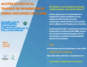 Spanish action to support the Treaty on the Prohibition of Nuclear Weapons