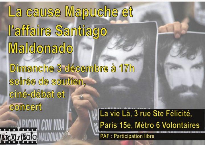 La cause Mapuche et l'affaire Santiago Maldonado