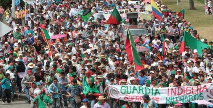 Les indiens colombiens réclament la place qui leur revient