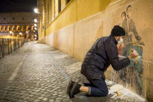 Roma: Tvboy insieme a Greenpeace contro l'inquinamento cittadino