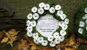 Remembrance Day hypocrisy of British Prime Minister say peace activists