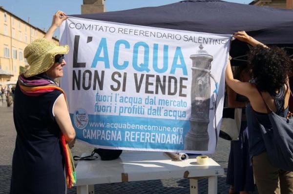 Referendum acqua e nucleare: rispetto della volontà popolare