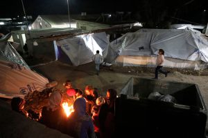 Greece: As Winter Nears, Asylum Seekers Stuck in Tents on Islands
