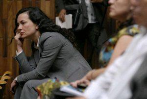 Almudena Bernábeu sobre el crimen de Berta Cáceres
