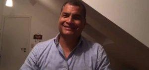 Rafael Correa anuncia que regresará a Ecuador el 24 de noviembre