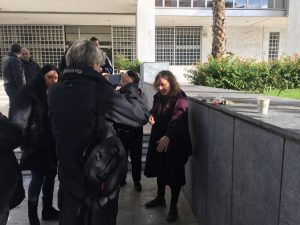 Επίθεση μελών της ΧΑ σε βάρος πολιτών και δικηγόρου έξω από το Εφετείο