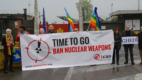 Appuntamento a Ghedi per il disarmo nucleare