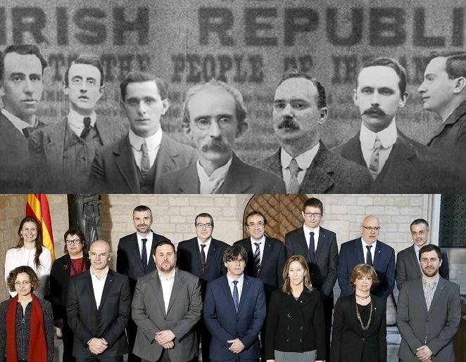 Dall'Irlanda alla Catalogna: un po' di storia
