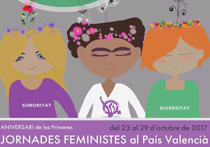 Las Primeras Jornadas Feministas en el País Valenciano cumplen 40 años
