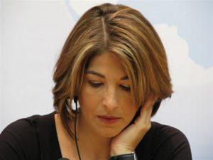 Η Ναόμι Κλάιν στη Βαρκελώνη για το νέο της βιβλίο