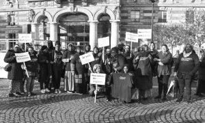 Madres de pie o cómo las madres del distrito  XIX de París se organizan para decir no a la violencia de los jóvenes que atentan contra su barrio