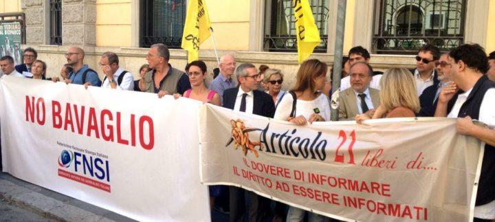 22 novembre per la libertà di stampa: Articolo 21 in piazza con Fnsi e Ordine dei Giornalisti