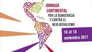 """Llamamiento al """"Encuentro Continental por la Democracia y Contra el Neoliberalismo"""