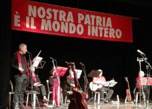 Ad Alberto l'Abate e a ICAN dedicate a Firenze le Canzoni contro la Guerra