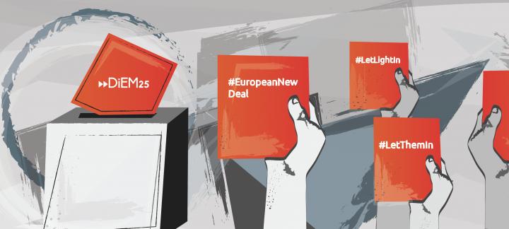 Candidats / es al Parlament Català recolzen els objectius de DiEM25