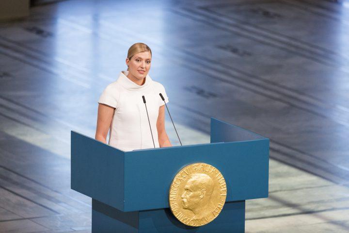 Discurso del Nobel de la Paz: Debemos reclamar la libertad de no vivir nuestras vidas como rehenes de la aniquilación inminente