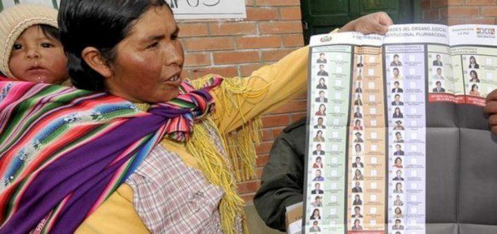 La Bolivie, seul pays au monde à élire ses juges par un vote populaire