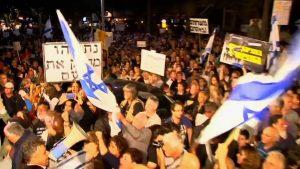Ισραήλ: μεγάλη πορεία εναντίον του Netanyahu και επικίνδυνες ανακοινώσεις Trump