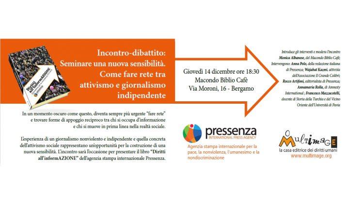 """""""Diritti all'InformAZIONE"""" arriva anche a Bergamo"""
