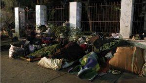 Μέτρα προστασίας από το κρύο για τους άστεγους της Αθήνας