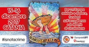 "Catania, ""Solidarity is not a crime"""