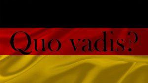 Deutschland – was nun?