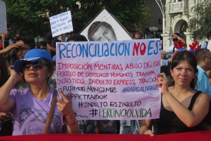 Περού: Παράτυπη χάρη παραβιάζει τη διαδικασία συμφιλίωσης
