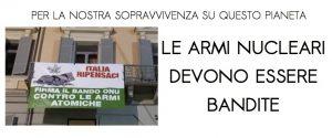 Campagna Italia Ripensaci: a Ivrea concerto per il disarmo nucleare