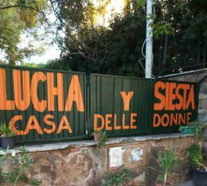 A Roma dopo la Casa delle donne anche Lucha y Siesta rischia di chiudere