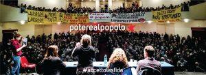 """""""Potere al popolo"""": il manifesto per una lista elettorale di sinistra e dal basso"""