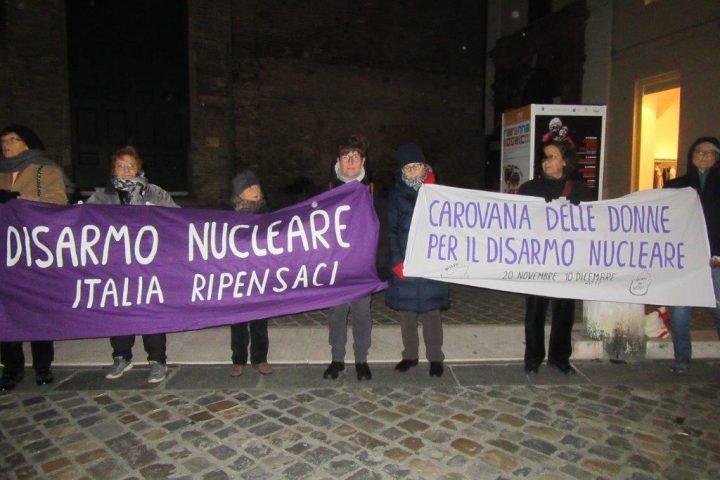 A Ravenna la Carovana delle Donne per il Disarmo Nucleare