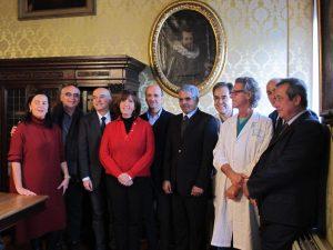 Il Ministro della Salute del Sahrawi in visita all'Ospedale dei Bambini per rafforzare gli aiuti umanitari