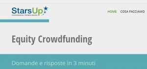 Banca Etica promuove l'equity crowdfunding  Al via la collaborazione con StarsUp.it