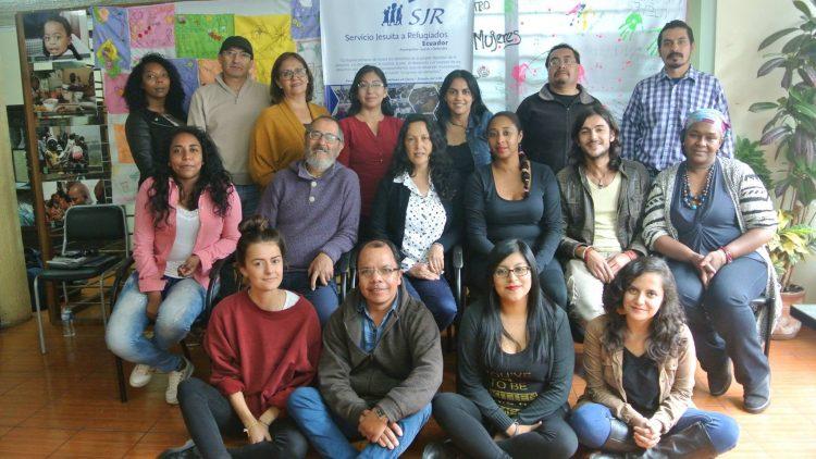 Grupo de trabajo en la SJR - Servicio Jesuita a Refugiados