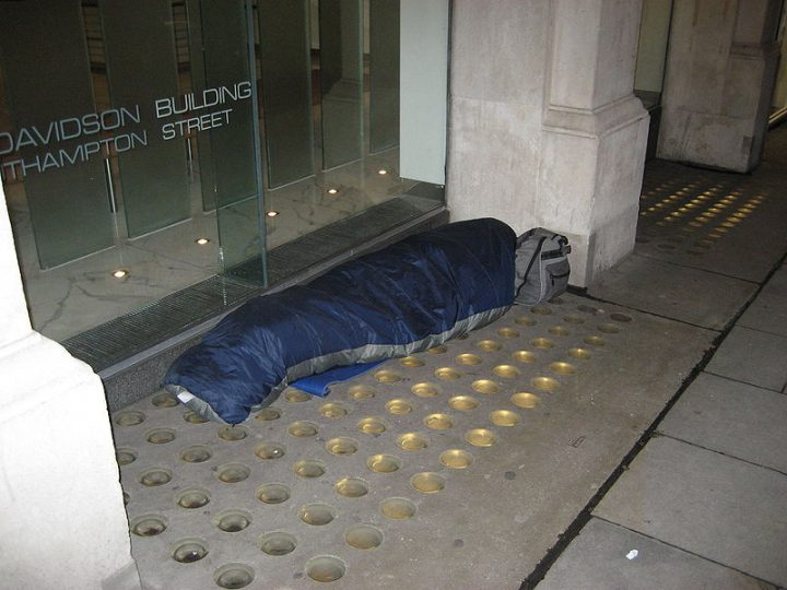 British austerity policies lie at heart of soaring homelessness and related health harms, argue experts