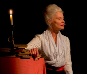 """Teatro: """"La viaggiatrice con le ali"""" con Isabel Russinova"""