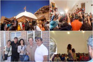 Encuentro anual de El Mensaje de Silo, en Parque Punta de Vacas, enero 2018