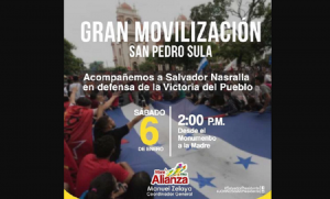 Alta tensión en Honduras con amenazas de represión y desalojo