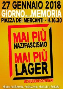 Giornata della Memoria. Basta fascismi e razzismi