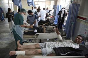 El presidente afgano dijo que los talibanes deben elegir entre el islam y el terrorismo, la humanidad y la barbarie