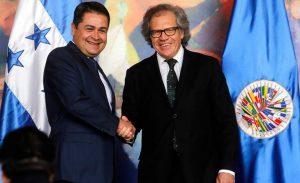 Honduras: OEA acepta trabajar con el presidente Hernández pese haber pedido repetir los comicios presidenciales